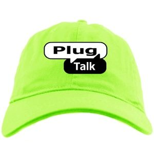 Other - Plug Talk Lime Green Dad Hat